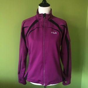 FILA Sport Performance Jacket raspberry/black